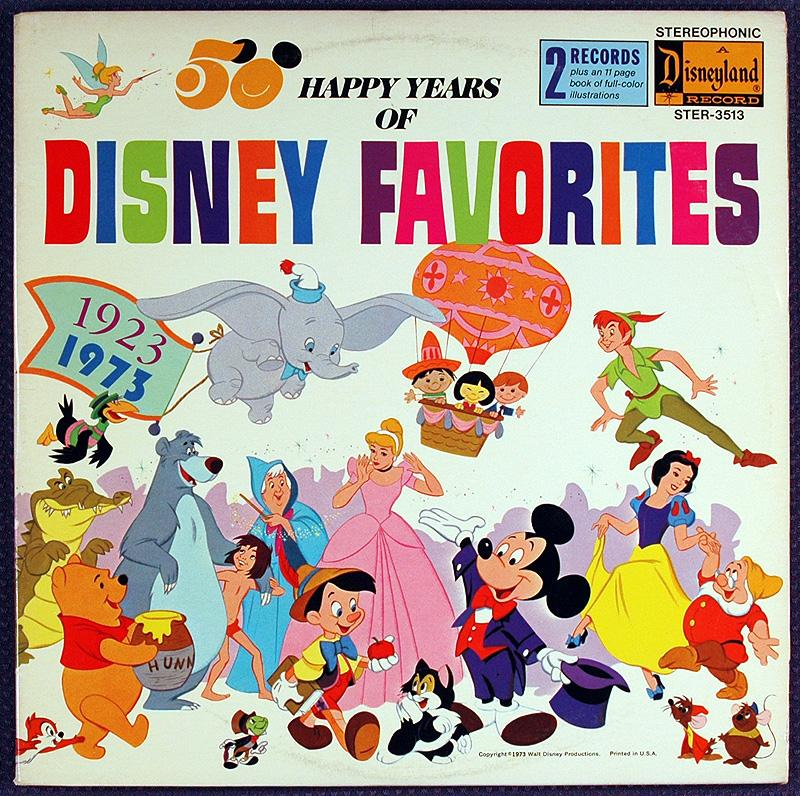 Auction Howardlowery Com Disneyland Record Ster 3513 50 Happy Years