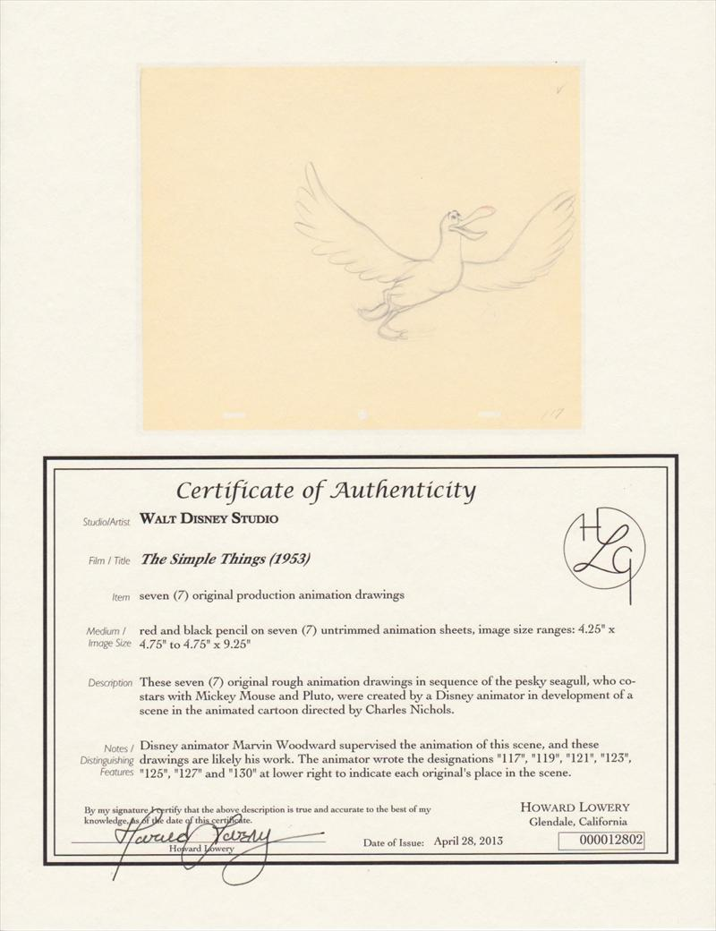 auction howardlowery com: 7 Disney THE SIMPLE THINGS