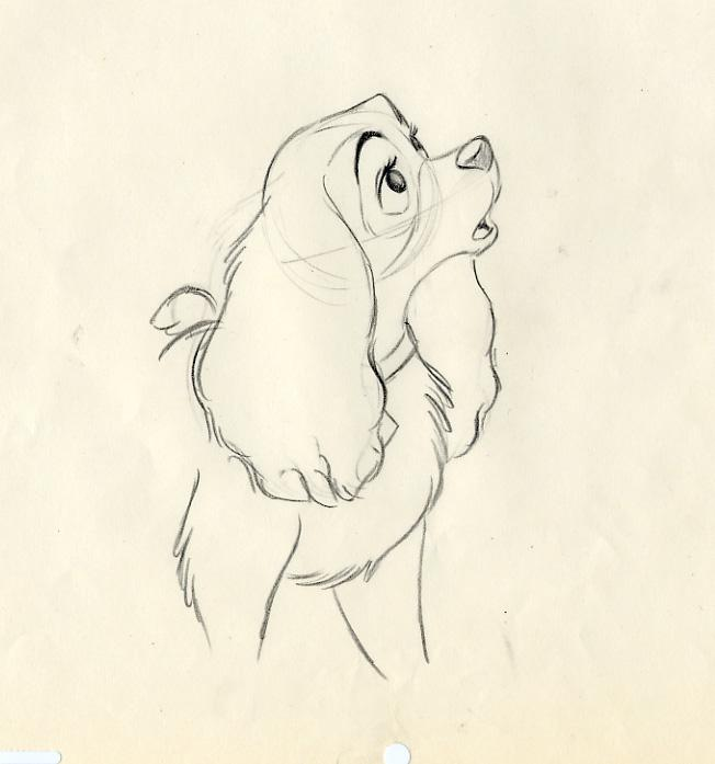 disney lady and the tramp animation