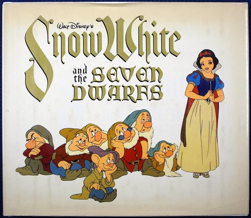 auction howardlowery com: Disney SNOW WHITE AND THE SEVEN DWARFS Out