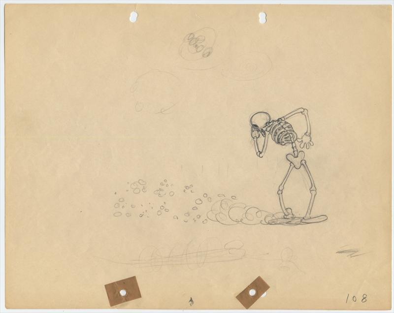 Auctionhowardlowerycom Columbia Skeleton Frolic Scarce Animation