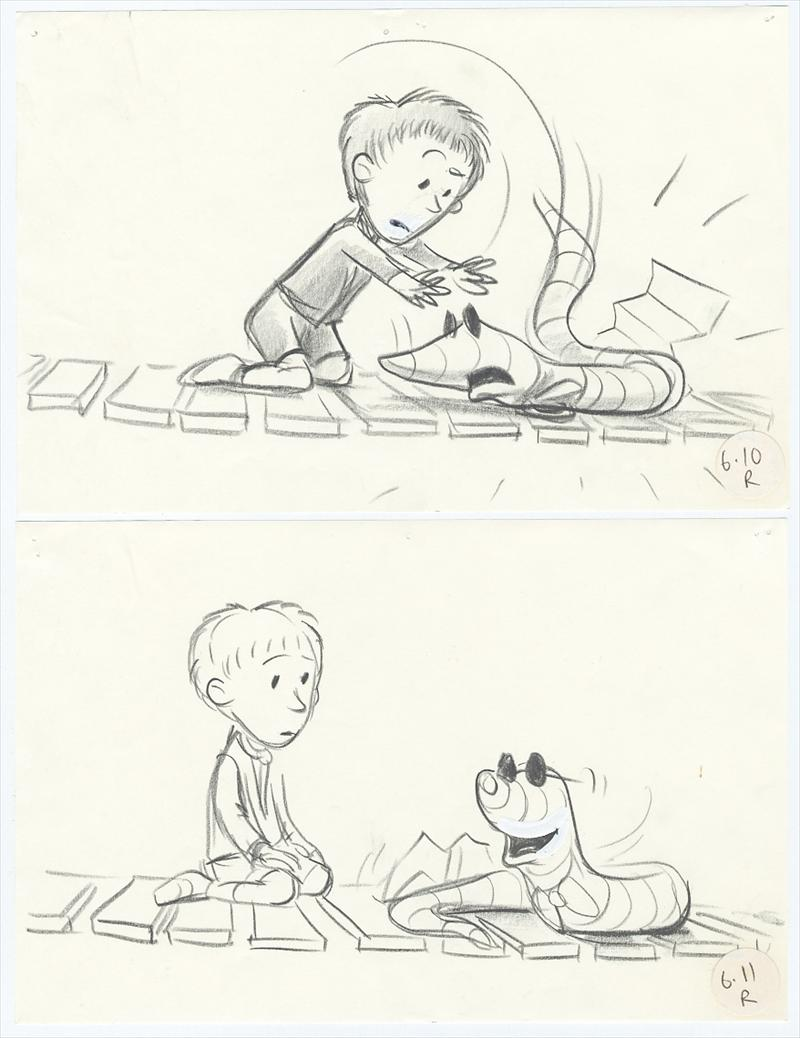 auction howardlowery com  4 disney james and the giant peach original story drawings james