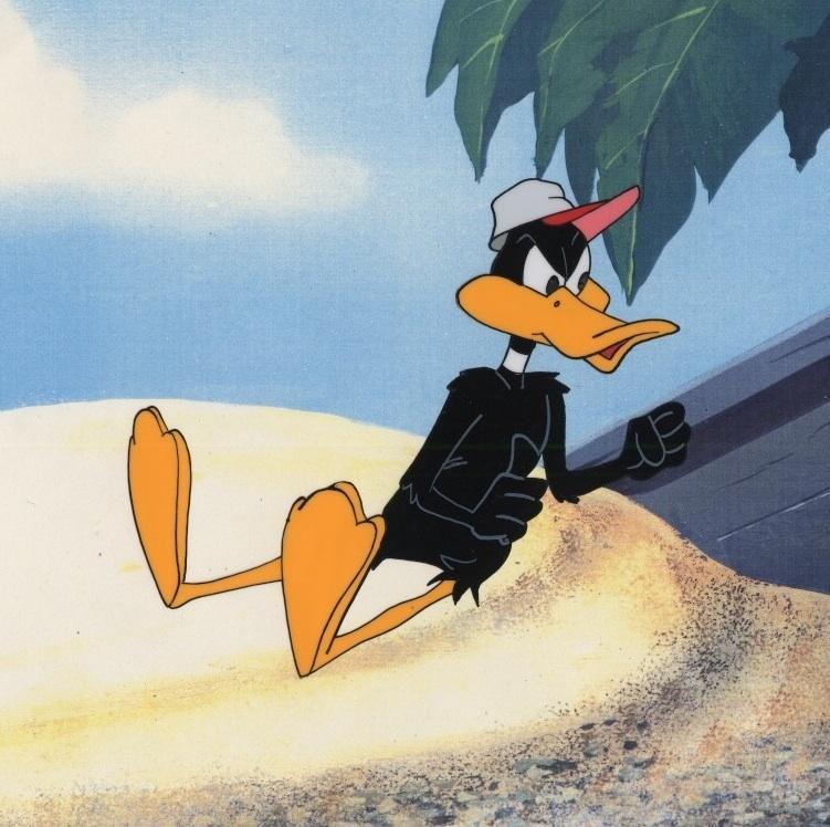 Auction Howardlowery Com Warner Bros Daffy Duck