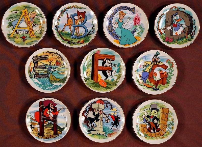 Bid ... & auction.howardlowery.com: Disney Collection Full Set of 26 DISNEYu0027S ...