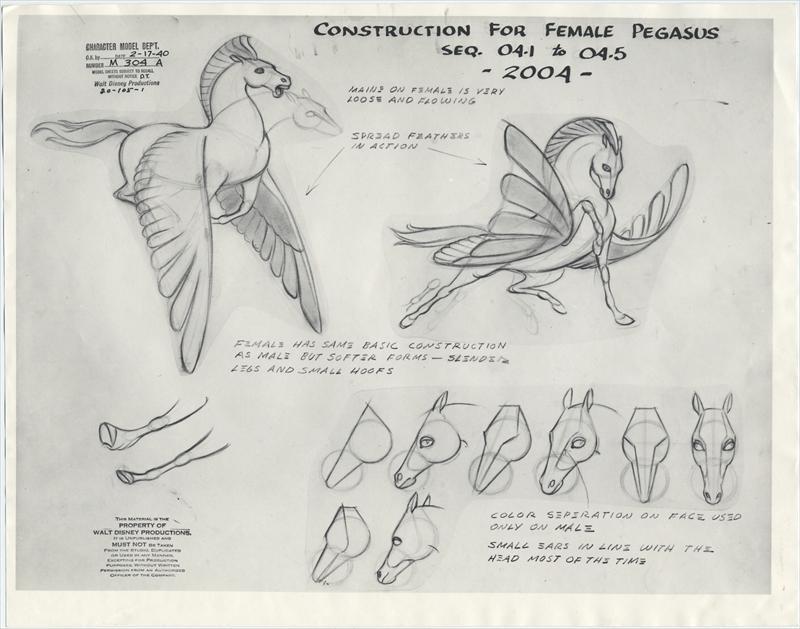 auction.howardlowery.com: 2 Disney FANTASIA Animation ...