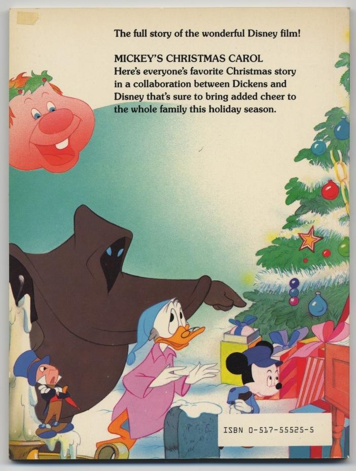 Mickeys Christmas Carol Book.Auction Howardlowery Com Disney Mickey S Christmas Carol