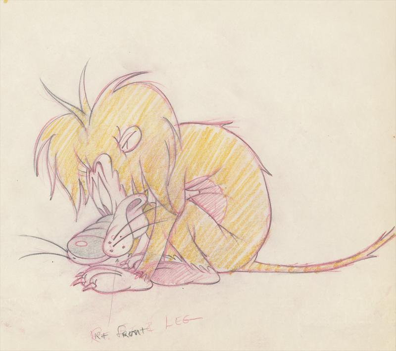 Auction Howardlowery Com M G M Tex Avery Slap Happy Lion Colored
