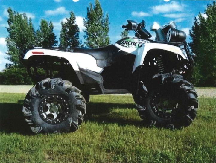 Barga ca: 2010 Arctic Cat Mud Pro ATV 1000CC