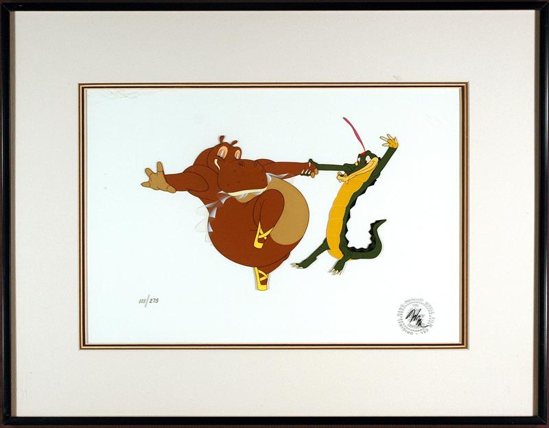 Auction.howardlowery.com: Disney FANTASIA Framed Limited