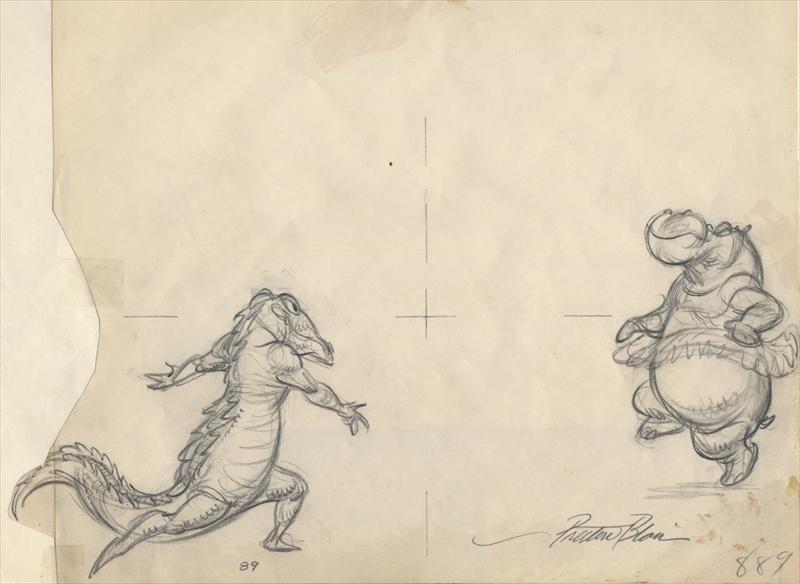 Auction.howardlowery.com: Disney FANTASIA Animation